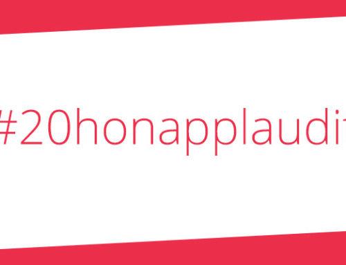#20honapplaudit